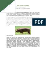 Razas Porcinas en Argentina