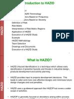 Hazid Lecture Part - 1