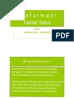 Biofarmasi Tablet Salut
