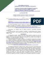 Despre Practica Judiciară Cu Privire La Aplicarea Legislaţiei, La Examinarea