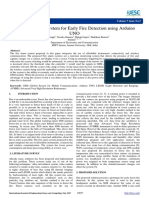 Development of System for Early Fire Detection Using Arduino UNO