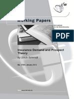KWP-1750 Insurance Demand