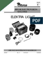Handleiding Elektra Light Tm 125mm