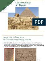 290986554 Pres Las Primeras Civilizaciones Mesopotamia y Egipto PDF