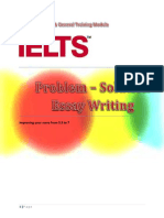 IELTS Problem-Solution Essay