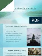 Tema 3. Románticos y Realistas.