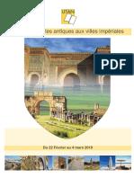 Maroc, des villes antiques aux villes impériales