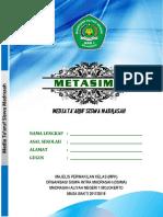 Buku Metasima 2018