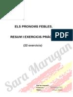 1. Exercicis de Pronoms-febles-Sara M.