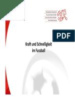 Th 3 Kraft Und Schnelligkeit Im Fussball Gafx