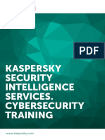 Kaspersky Security intelligence training