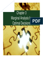 Chapter 3. Marginal Analysis for Optimal Decisions