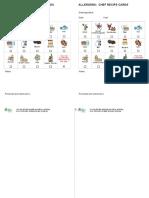 Recipe Sheet Update