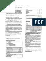 Cuaderno de Protocolos Bradford