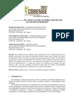 2007cobenge Tensoes Algebra Linear 1