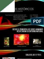 Eventos históricos de la educación ambiental