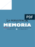 Ochoa y Maillard. La Persistencia de La Memoria. L38 Un Espacio Para Memorias.