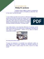 Biografia de Phillip W. Jackson
