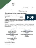 Regulamento de Licitações e Contratos Do SERPRO