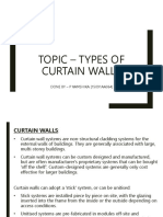 Types of Curtain Walls