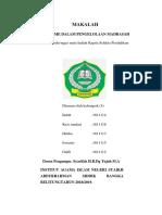 Pfofesionalisme Madrasah. IBUK SYARIFAH