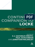 [Continuum Companions] S. -J. Savonius-Wroth, Jonathan Walmsley, Paul Schuurman - Continuum Companion to Locke  (2010, Continuum).pdf