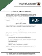 Regulamento Feira FCQ17