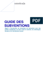 Guide Subventions Appel a Projets Thematique 2018