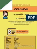 Case Report Neuro Stroke iskemin