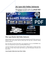 99DominoQQ Agen QQ Online Indonesia