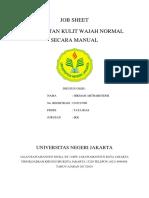 Job Sheet Perawatan Wajah Normal Secara Manual 3-1
