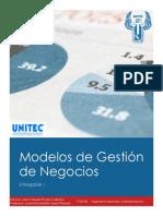 Entregable 1 Modelo de Gestión de Negocios