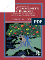[Postwar world] Urwin, Derek W - The Community of Europe _ a History of European Integration Since 1945 (2014, Taylor and Francis_Routledge).epub