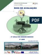 Criterios de Avaliacao 5 ANO