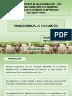 TRANSFERENCIA DE TECNOLOGIA - DIAGNOSTICO RURAL PARTICIPATIVO