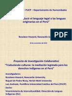 El reto de traducir lenguas indígenas