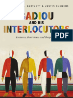 A J Bartlett, Ed. - Badiou & His Interlocutors