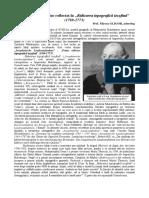 """Mircea Gligor, Ţinutul pădurenilor reflectat în """"Ridicarea topografică iozefină""""."""