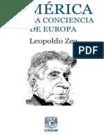 Zea, Leopoldo. - America en La Conciencia de Europa [2015]