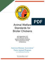 Broiler Chickens_Animal Welfare Standards