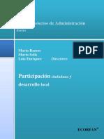 participacion ciudadana y desarrollo local