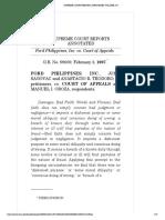 FORD PHILIPPINES, INC., JOHN SAGOVAC and ANASTACIO R. TEODORO, II, petitioners, vs. COURT OF APPEALS and MANUEL I. OBOZA, respondents..pdf