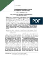 George Publish Article_091218_Short Term Treatment of Shrimp Aquaculture Wastewater