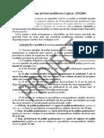 Amendamente Politia Penitenciara Ofiteri de Cariera Articolul 97 Important