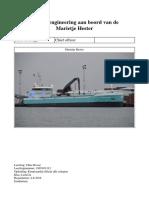 Stageverslag Marine Engineering