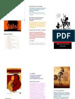 folleto don quijote capitulo 4