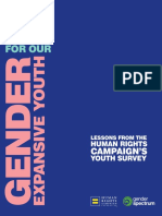 HRC Report on Gender Expansive Youth
