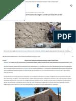 Sistema de Drizas_ Reforzamiento Estructural Para Construcciones en Adobe _ ArchDaily Colombia