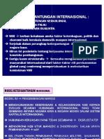 Bab 4 Model Ketergantungan Internasional