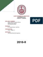Informe N°5 - Trabajo y energía